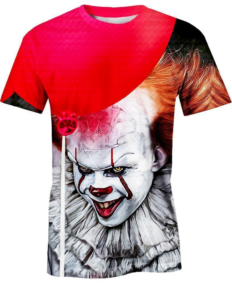 Pennywise Stephen King 3D shirt