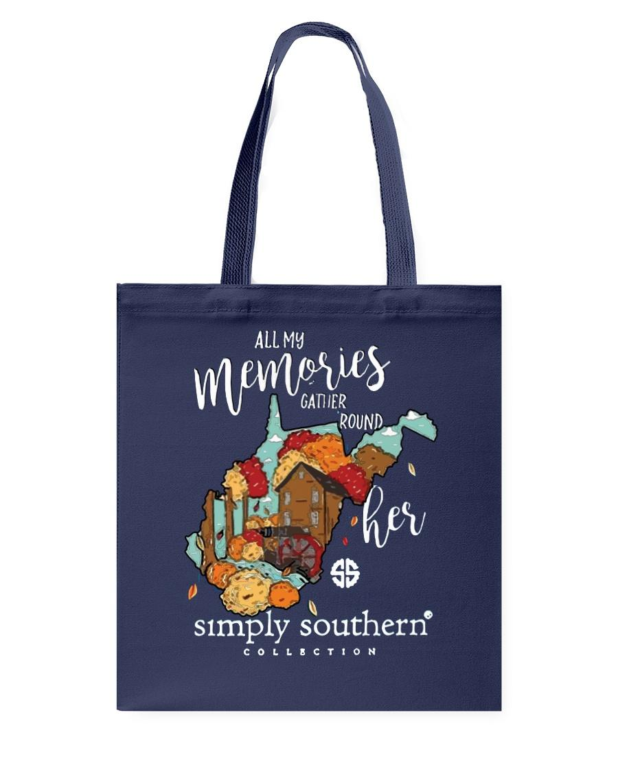West Virginia all my memories gather round her tote bag