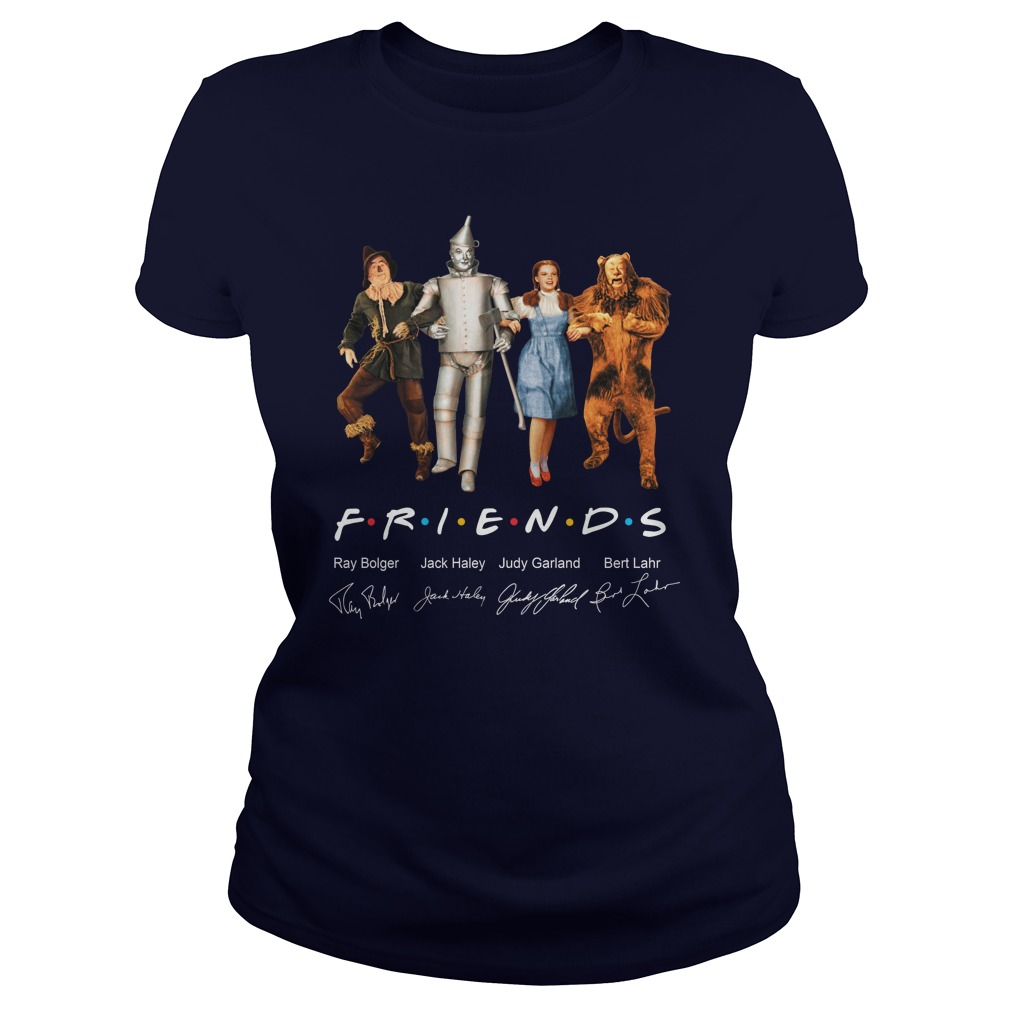 Friends The Wizard of Oz signature lady shirt