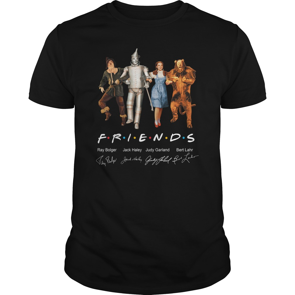 Friends The Wizard of Oz signature shirt