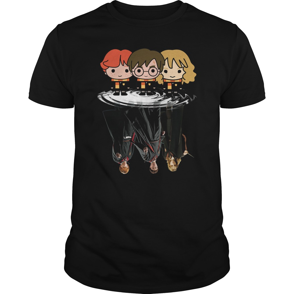 Harry Potter Chibi Water Reflection Shirt
