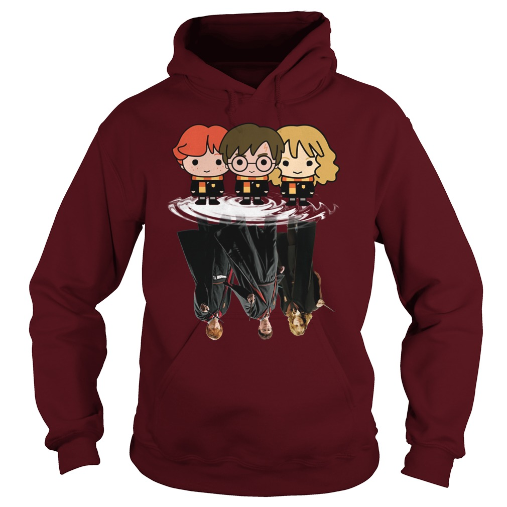 Harry Potter Chibi Water Reflection hoodie