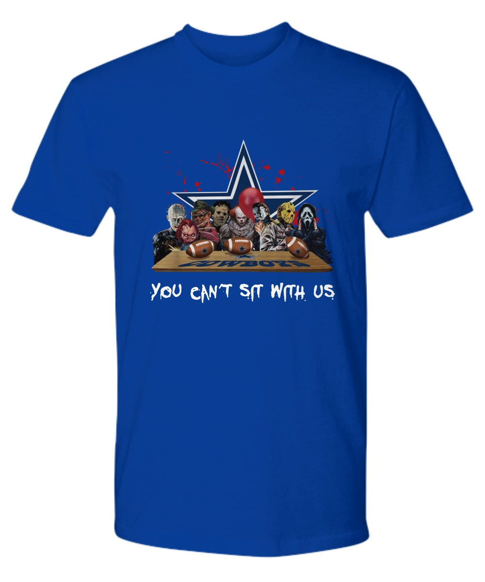 Horror Movie Dallas Cowboy you can't sit with us premium shirt