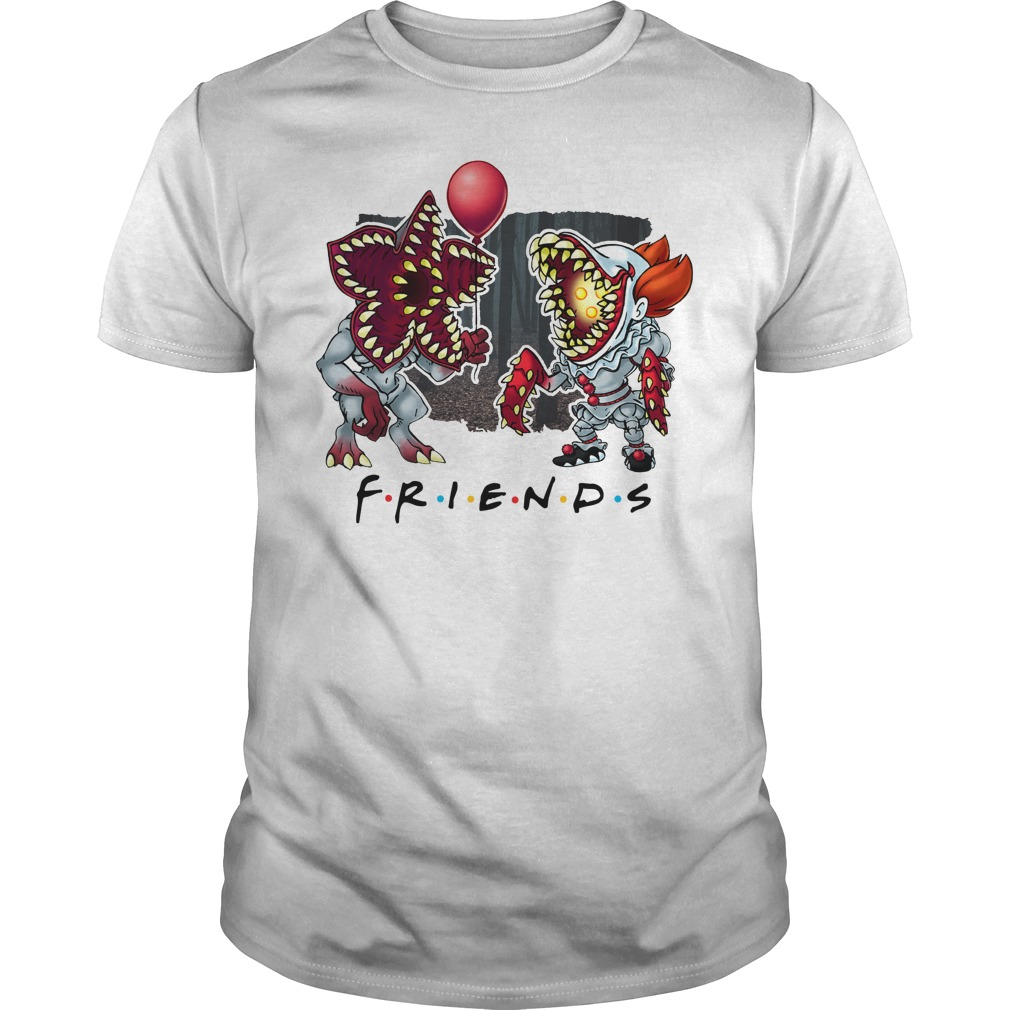 IT Pennywise Stranger Things Friends Unisex Shirt