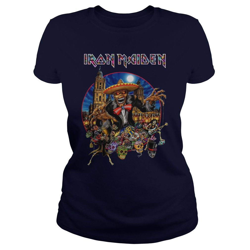 Iron Maiden In The Mexico City 2019 Lady Shirt