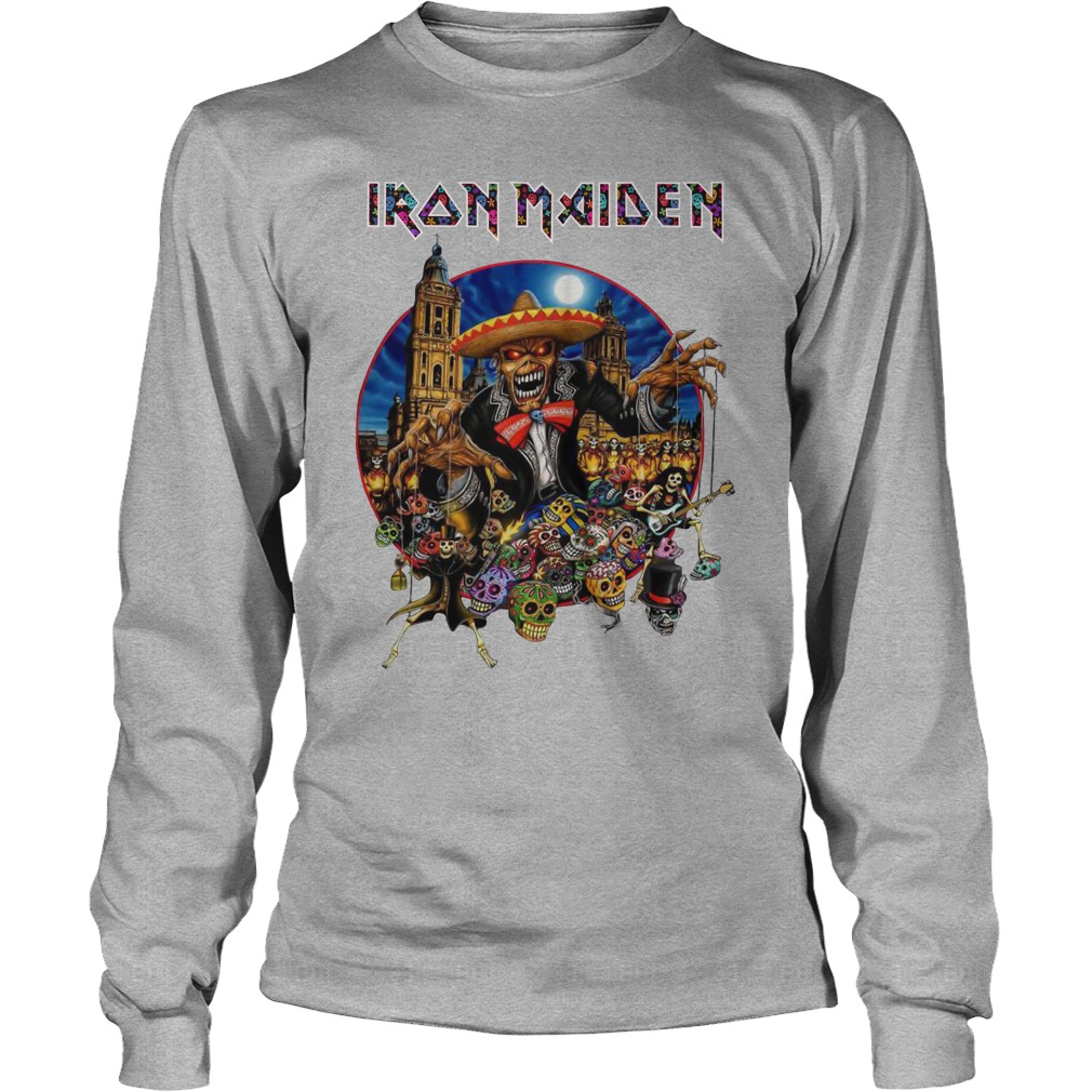 Iron Maiden In The Mexico City 2019 Long Sleeve