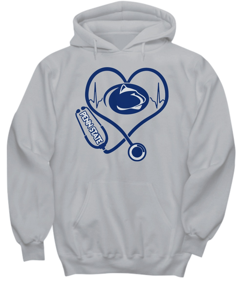 Penn State Nittany Lions Heart Stethoscope Hoodie
