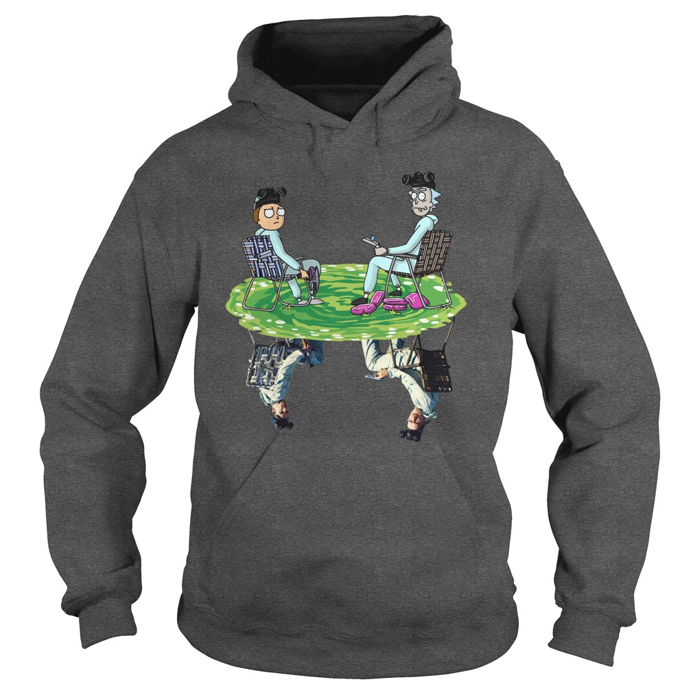 Rick and Morty Crossover Walter and Jesse Breaking Bad Hoodie