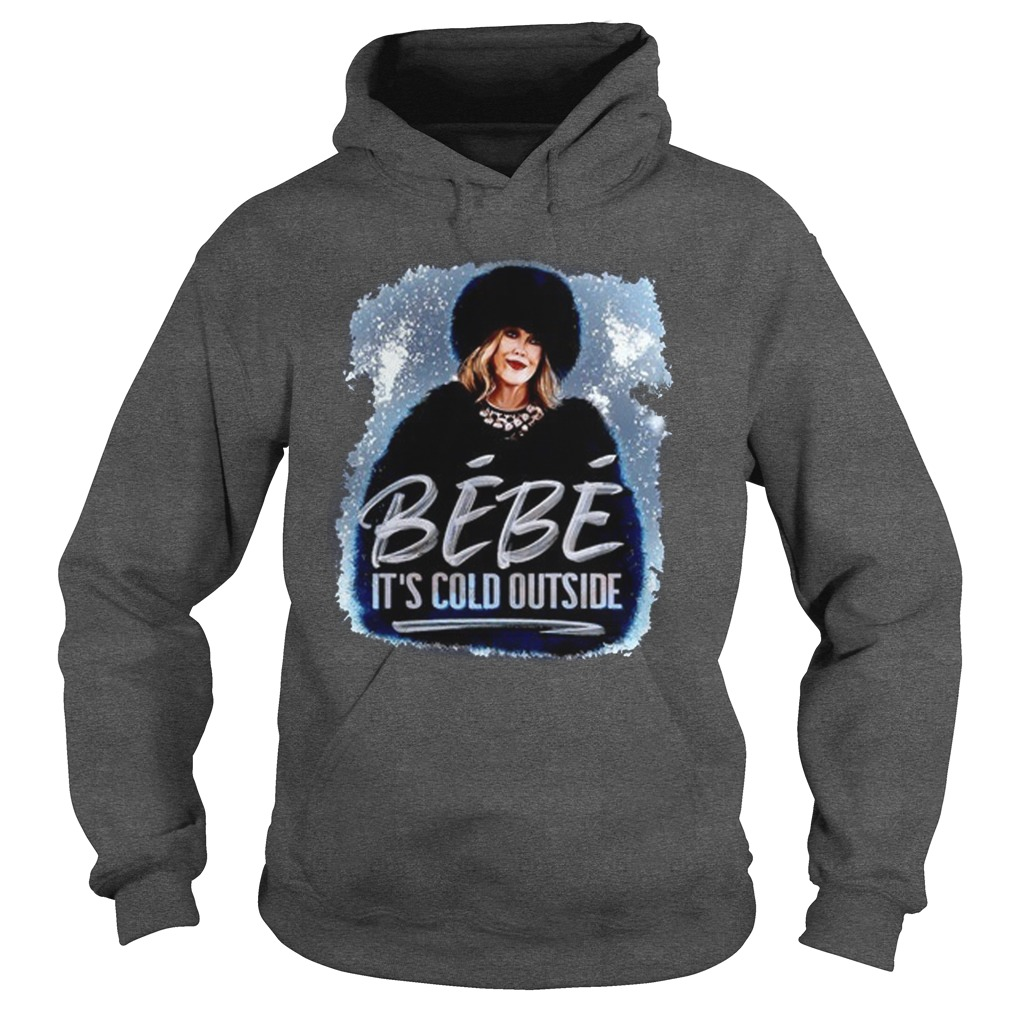 Bebe It's Cold Outside Hoodie