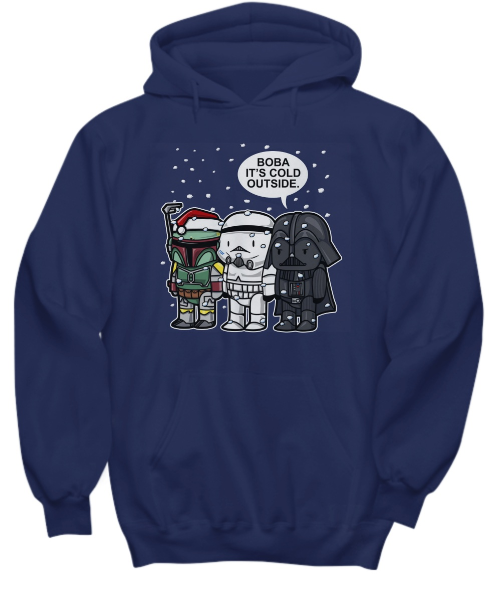 Boba, It's Cold Outside Star Wars Christmas Hoodie