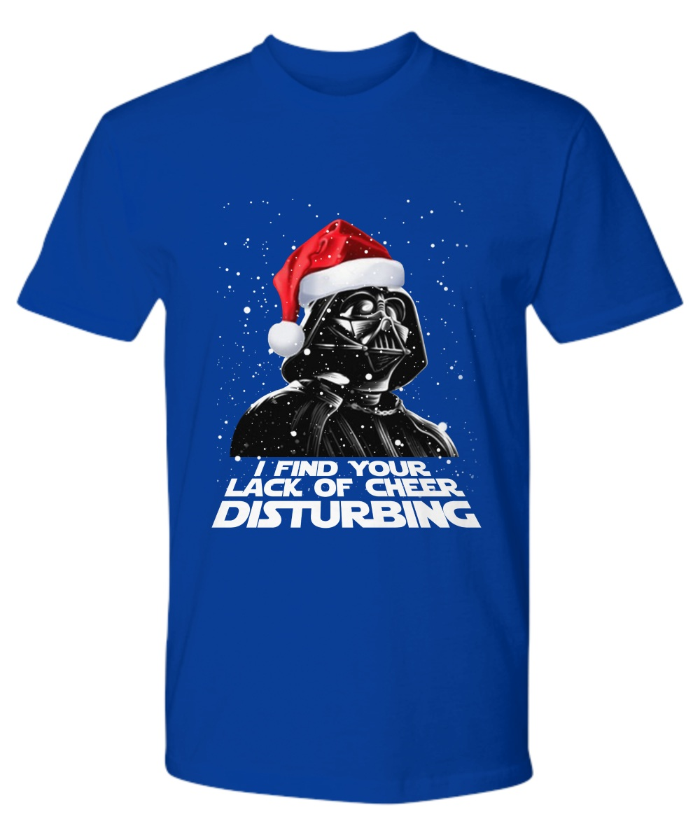 Darth Vader find your lack of cheer disturbing Christmas premium shirt