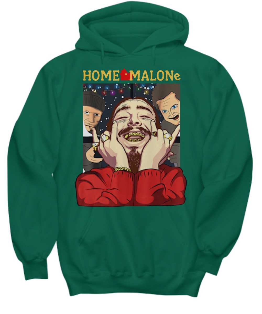 Home Malones Home Alone Christmas Hoodie