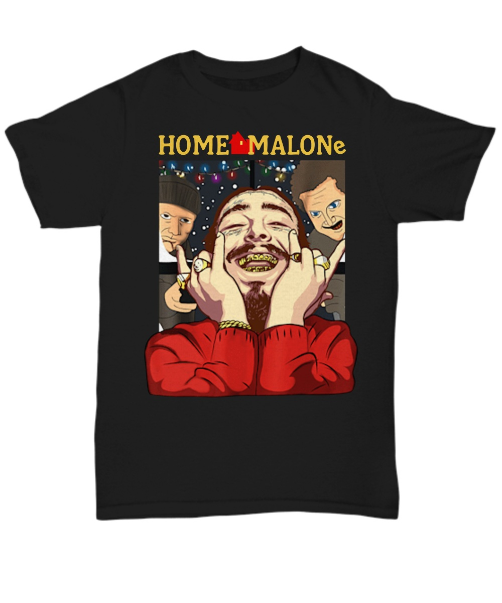 Home Malones Home Alone Christmas Shirt