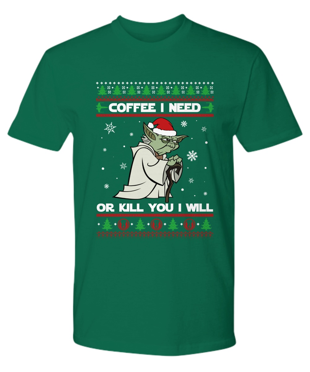 Seagull Star Wars coffee I need or kill you I will ugly premium shirt