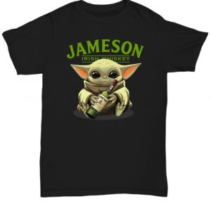 Baby Yoda take Jameson Irish Whiskey Christmas shirt