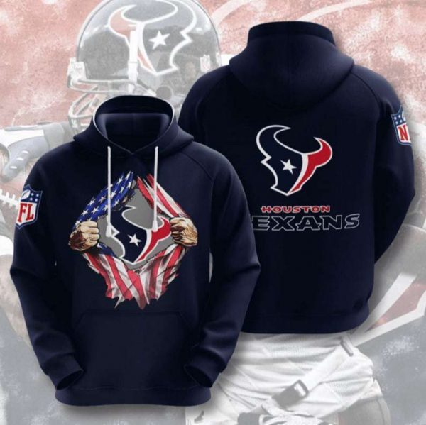 Houston Texans NFL Football 3D Hoodie LIMITED EDITION