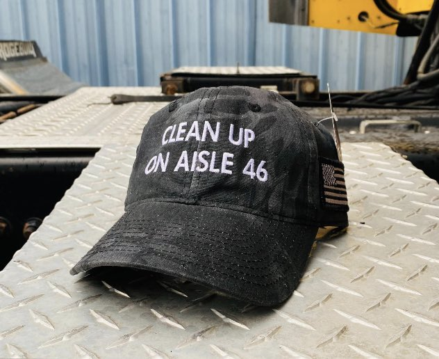 Clean up on aisle 46 cap