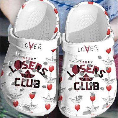 Halloween Derry Losers Club Crocs shoes