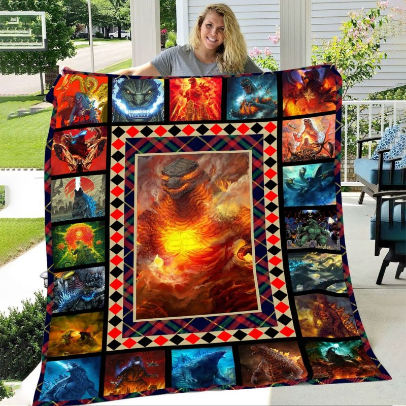 GODZILLA: KING OF THE MONSTERS Blanket for fans of music