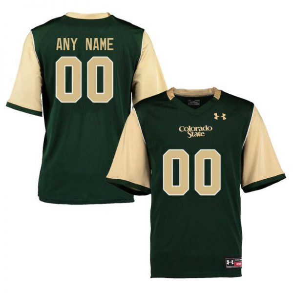 Colorado State Rams Custom Name Number White College Football Jersey