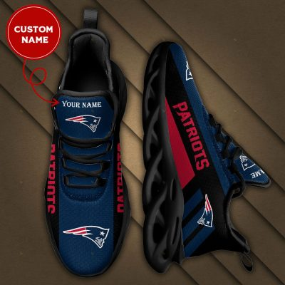 Personalized NEW ENGLAND PATRIOTS Max Soul Sneakers