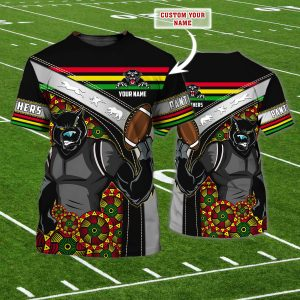 Penrith Panthers Rugby Custom Name shirt