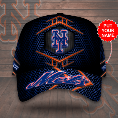 Personalized New York Mets 3D Cap