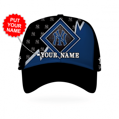 Personalized New York Yankees Printed 3D Hat
