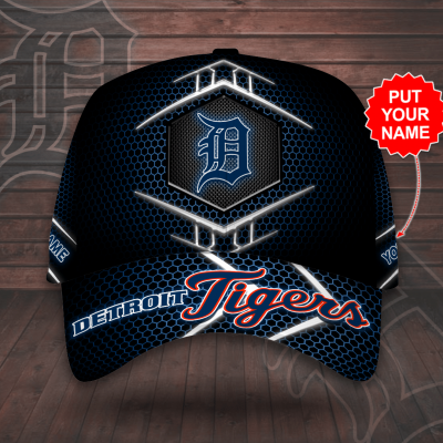 Personalized The Detroit Tigers MLB AOP classic Cap