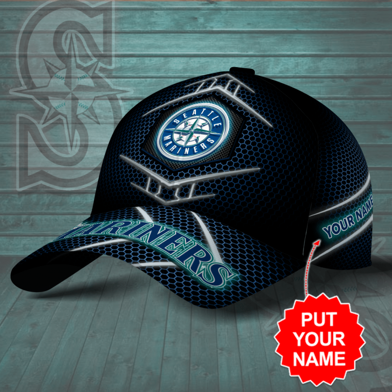 Personalized Seattle Mariners MLB AOP classic Cap