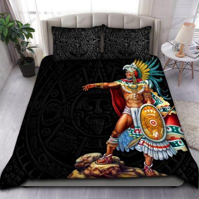 Aztec Eagle Warrior military special forces Bedding Set