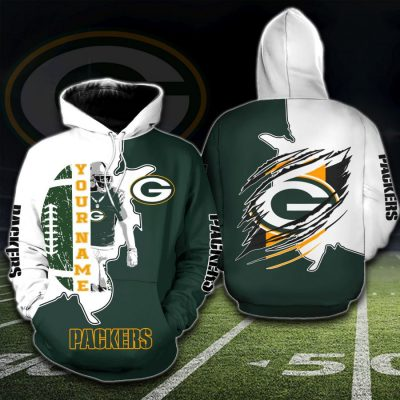 NFL Green Bay Packers Personalized Hoodie