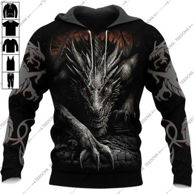 Dungeon Dragon Tattoo Special Edition Hoodie 3D