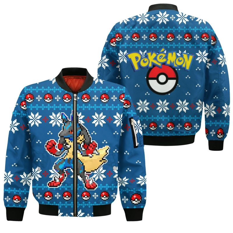 New wool Christmas Sweater for Pokemon fans