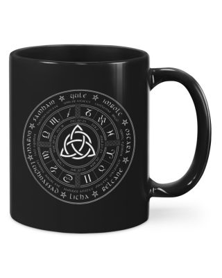 Black Witch Wheel Of The Year Mugs